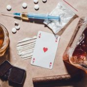 What is the difference between gambling and drug addiction?