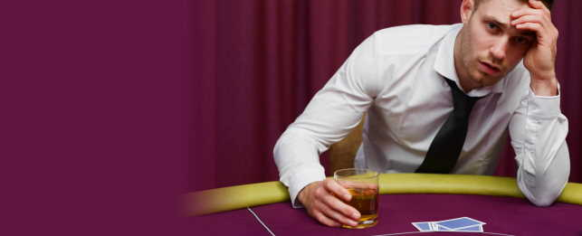 gambling addicted friend