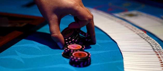 people gambling